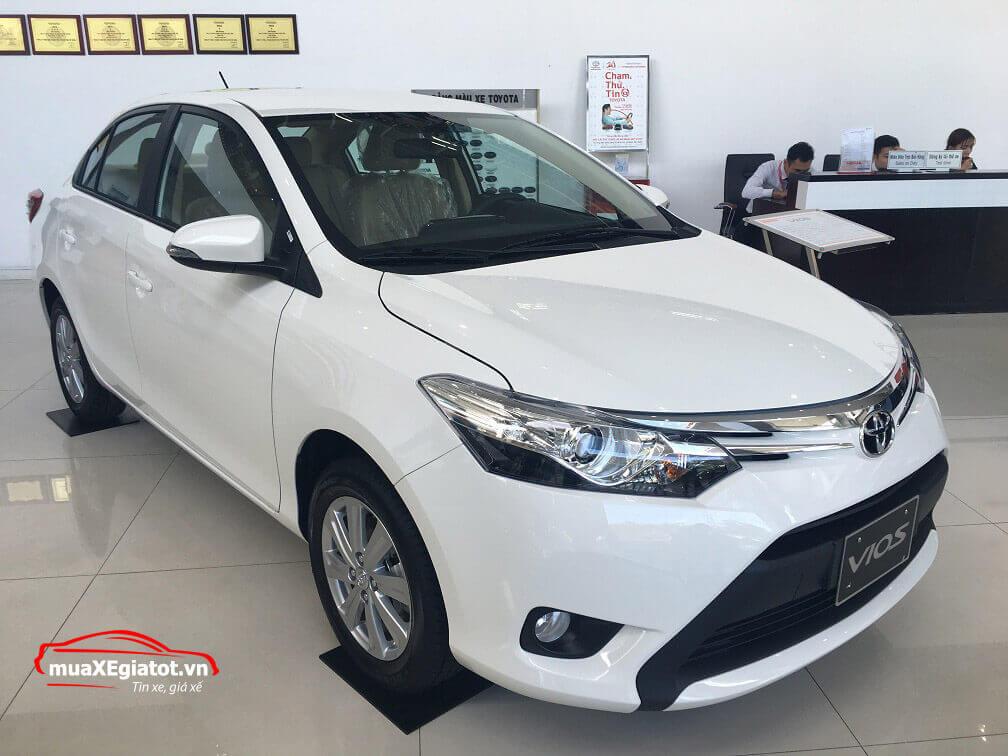 Ngoại thất xe Toyota Vios 2018
