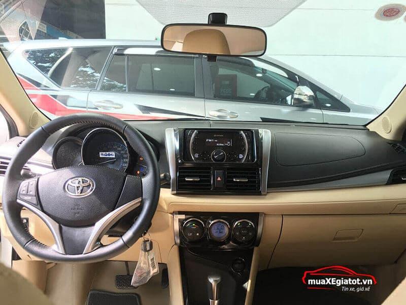 Nội thất xe Toyota Vios 2018