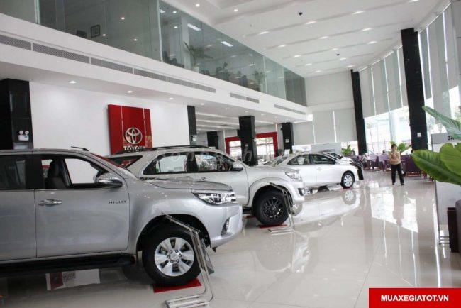 Toyota Hùng Vương chi nhánh Tân Tạo Showroom - Toyota Tân Tạo