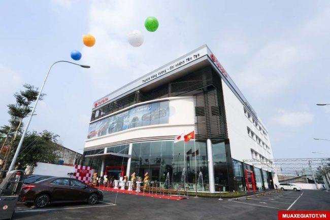 Trung tâm xe Toyota cũ qua sử dụng Toyota Hùng Vương - Tân Tạo