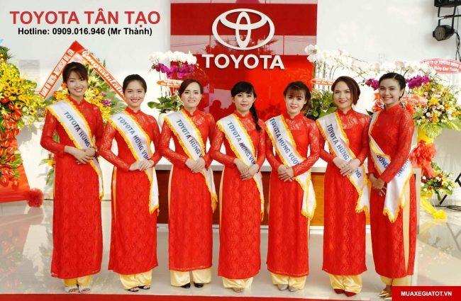 Toyota Tân Tạo (Toyota Hùng Vương chi nhánh Tân Tạo) xin kính chào Quý khách hàng