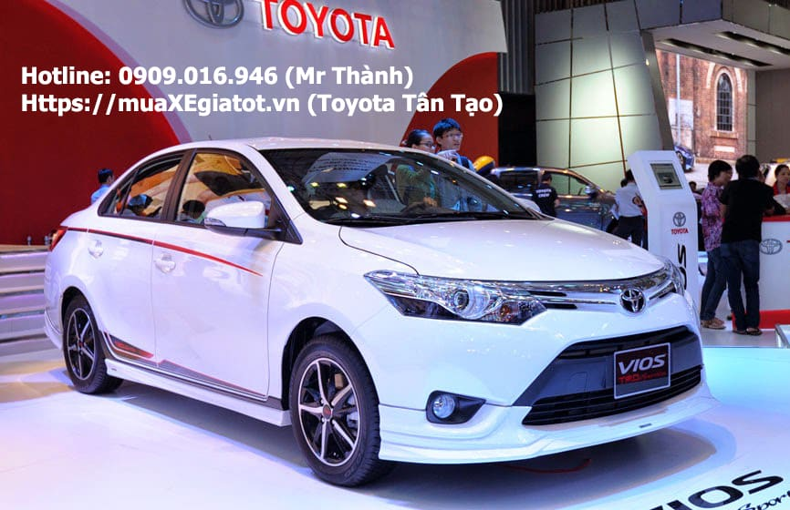 Toyota Vios 2018 giá bao nhiêu