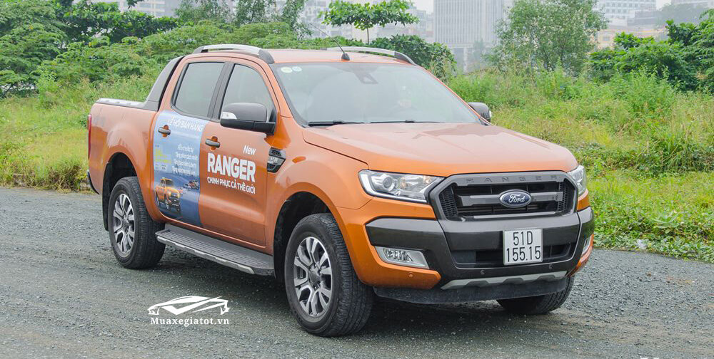 Ford Ranger 2018 đầu xe
