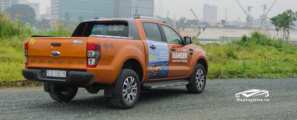 Thùng xe bán tải Ford Ranger 2018