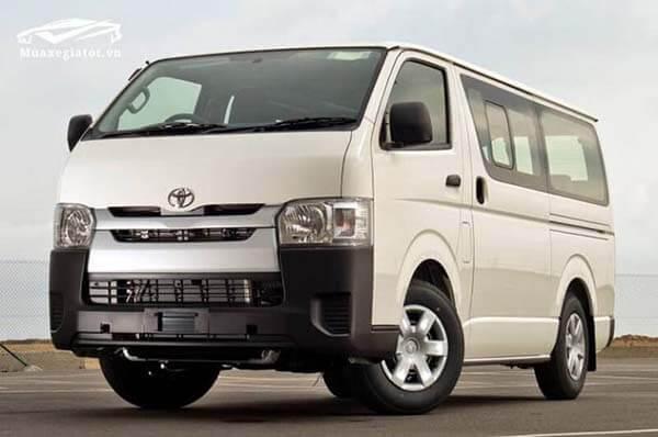 Giá xe 16 chỗ Toyota Hiace 2019 nhập khẩu Thái lan