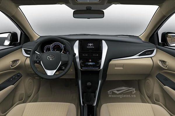 Nội thất xe Toyota Vios 2018 sẽ được trang bị gần như đầy đủ