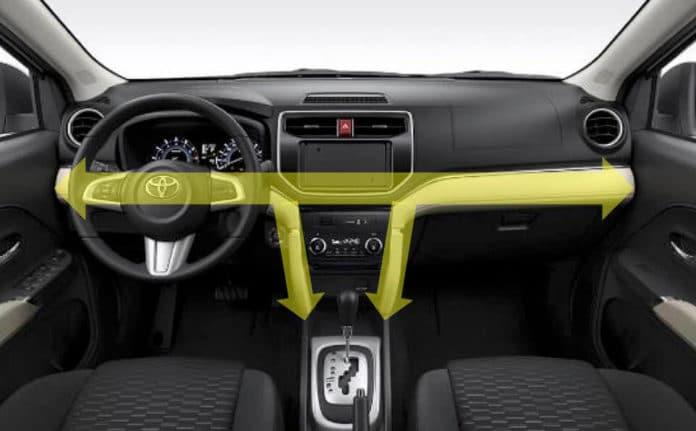 bang tap lo xe toyota rush 2018 2019 muaxegiatot vn 696x431 Đánh giá xe Toyota Rush 2021 kèm giá bán khuyến mãi #1