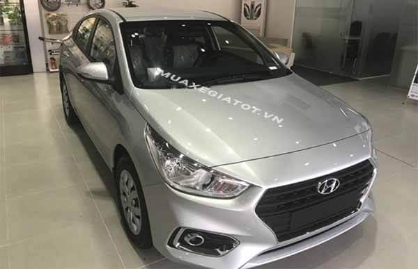 dau xe hyundai accent 2018 14 mt base muaxegiatot vn So sánh Hyundai Accent MT và Vios E MT 2021 mới