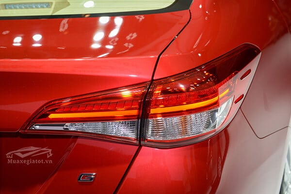 den hau xe toyota vios 2018 2019 muaxegiatot vn Chi tiết xe Toyota Vios G 2021 kèm giá bán