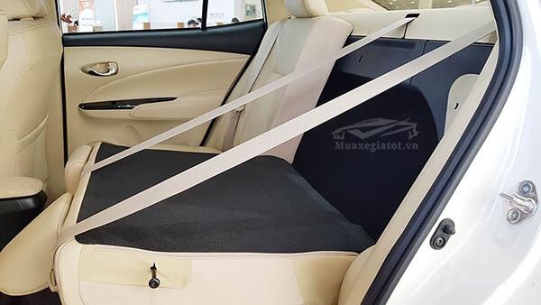 gap ghe 60 40 xe toyota vios 2018 2019 muaxegiatot vn Chi tiết xe Toyota Vios G 2021 kèm giá bán