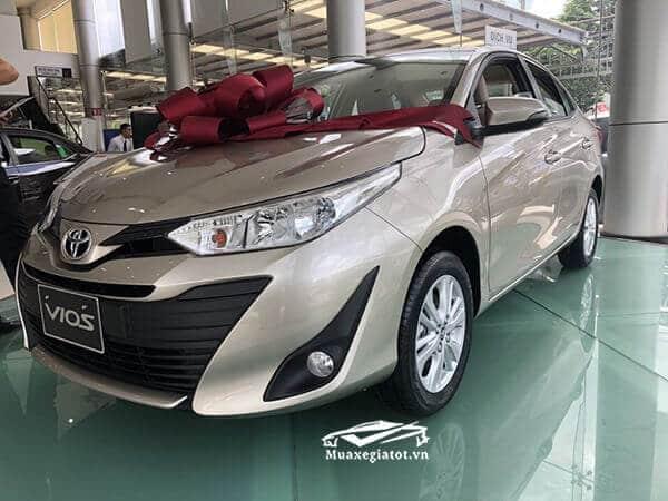 Đánh giá xe Toyota Vios E CVT 2019 số tự động