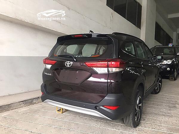 hinh anh rush 2018 2019 ve dai ly 7 Đánh giá xe Toyota Rush 2021 kèm giá bán khuyến mãi #1