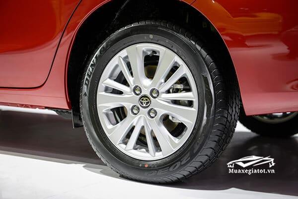 mam xe toyota vios 2018 2019 muaxegiatot vn Chi tiết xe Toyota Vios G 2021 kèm giá bán