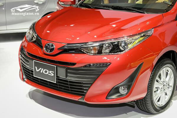 mat ga lang xe toyota vios 2018 2019 muaxegiatot vn Chi tiết xe Toyota Vios G 2021 kèm giá bán