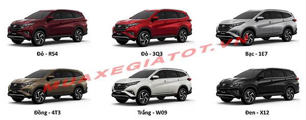 mau xe toyota rush 2018 2019 muaxegiatot vn Đánh giá xe Toyota Rush 2021 kèm giá bán khuyến mãi #1