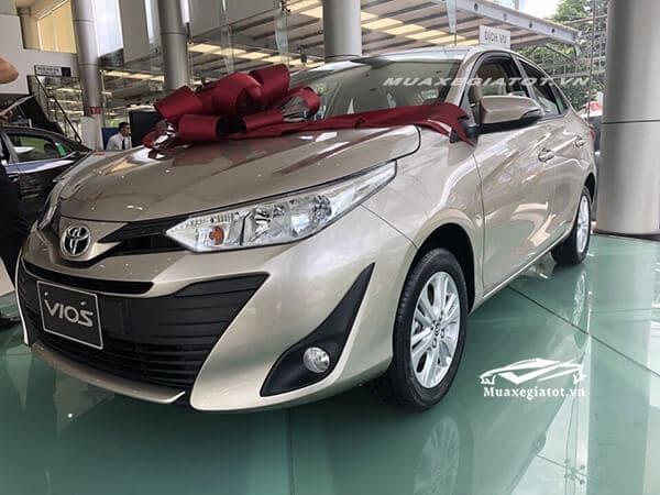 toyota vios 2018 2019 mau nau vang be muaxegiatot vn Chi tiết xe Toyota Vios G 2021 kèm giá bán