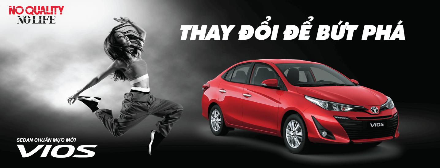 Khuyến mãi mua xe Toyota Vios 2019 tháng 02-03/2019