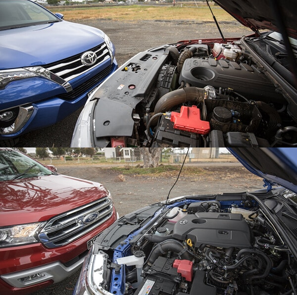 Dong co Everest 2 0 Titanium 4WD hay Fortuner 2 8V 4 4 AT 6 Muaxegiatot vn So sánh Toyota Fortuner 2021 và Ford Everest 2021 bản cao cấp