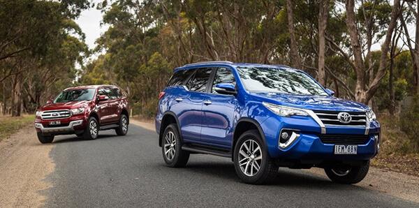 So sánh Toyota Fortuner và Ford Everest 2019 bản cao cấp nhất