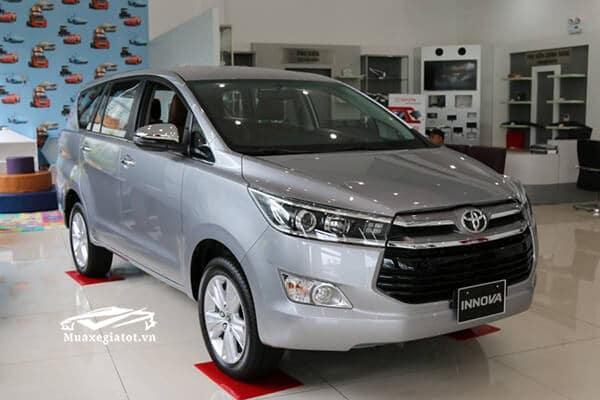 dau xe toyota innova 2 0 v 7 cho muaxegiatot vn 16 Toyota Innova 2021 có xe máy dầu không?