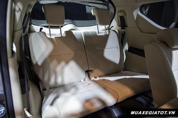 ghe thu ba mitsubishi xpander 2018 2019 muaxegiatot vn 15 So sánh xe 7 chỗ Toyota Rush với Mitsubishi Xpander 2021