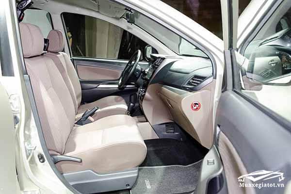 ghe thu nhat toyota avanza 15 at 2018 2019 muaxegiatot vn 18 Đánh giá Toyota Avanza 2021 kèm giá bán #1