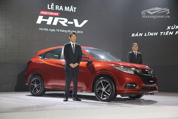 Honda HR-V 2019 chính thức ra mắt