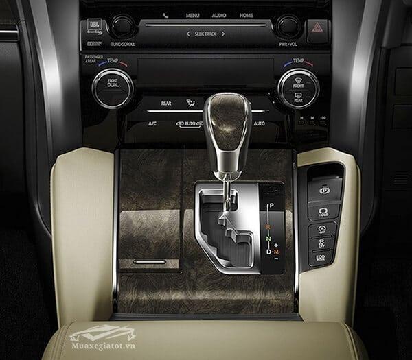 Hộp số tự động 6 cấp trên xe Toyota Alphard 2019 Luxury, Giá xe Alphard 2019, Đánh giá xe Alphard 2019