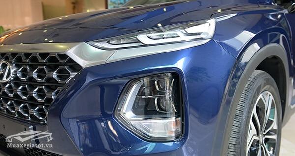den xe hyundai santa fe 2019 viet nam muaxenhanh vn 5 Đánh giá xe Hyundai Santafe 2021 kèm giá bán #1