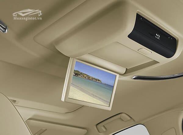 màn hình trần trên xe Toyota Alphard 2019 Luxury, Giá xe Alphard 2019, Đánh giá xe Alphard 2019