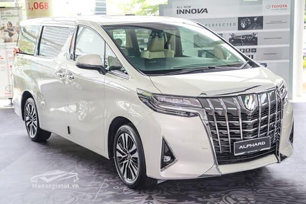 gia xe toyota alphard 2019 muaxegiatot vn Đánh giá Toyota Alphard 2021 kèm giá bán!