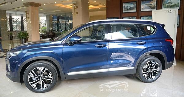 hong xe hyundai santa fe 2019 viet nam muaxenhanh vn 9 Đánh giá xe Hyundai Santafe 2021 kèm giá bán #1