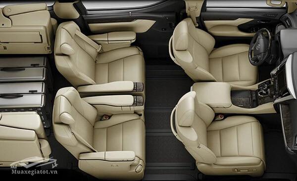 Nội thất xe Toyota Alphard 2019 Luxury, Giá xe Alphard 2019, Đánh giá xe Alphard 2019