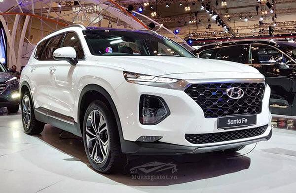 ngoai that hyundai santafe 2019 ra mat indonesia muaxegiatot vn Đánh giá xe Hyundai Santafe 2021 kèm giá bán #1