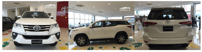 ngoai that toyota fortuner 2019 muaxegiatot vn So sánh nhanh Toyota Fortuner, Ford Everest và Chervrolet Trailblazer