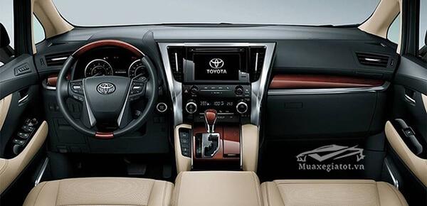 Tiện ích xe Toyota Alphard 2019 Luxury, Giá xe Alphard 2019, Đánh giá xe Alphard 2019