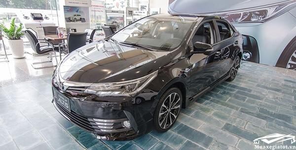 Đánh giá Toyota Corolla Altis 2019 kèm giá bán