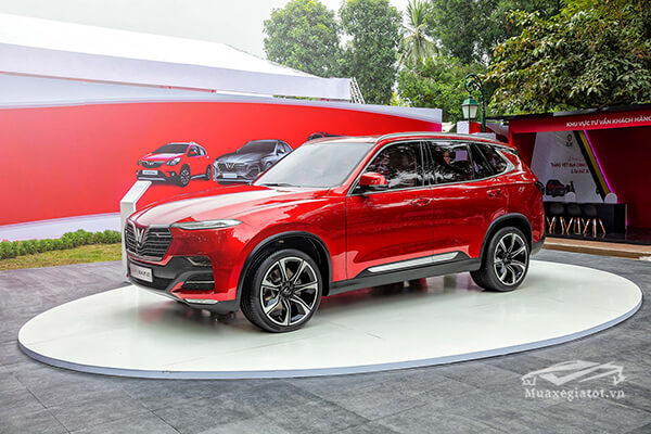 Chi tiết xe VinFast Lux SA2.0 SUV