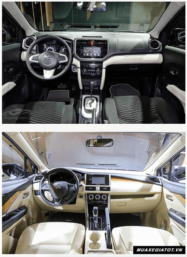 so sanh toyota rush va xpander 2019 muaxenhanh vn 3 So sánh Toyota Rush 1.5AT và Mitsubishi Xpander 1.5 AT