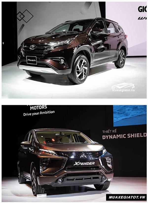 so sanh toyota rush va xpander 2019 muaxenhanh vn 6 So sánh Toyota Rush 1.5AT và Mitsubishi Xpander 1.5 AT