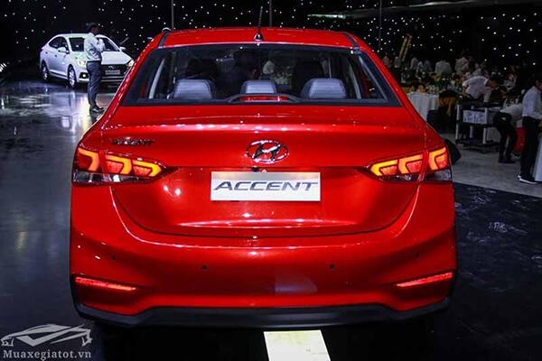 duoi xe hyundai accent 2019 muaxegiatot vn 14 Đánh giá xe Hyundai Accent 2021 kèm giá bán #1