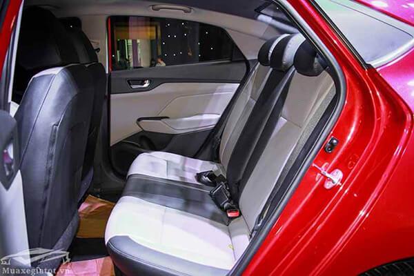 hang ghe sau xe hyundai accent 2019 muaxegiatot vn 13 Đánh giá xe Hyundai Accent 2021 kèm giá bán #1