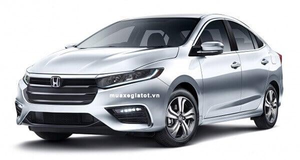 Đầu xe Oto Honda City 2019 (Ảnh phác thảo)