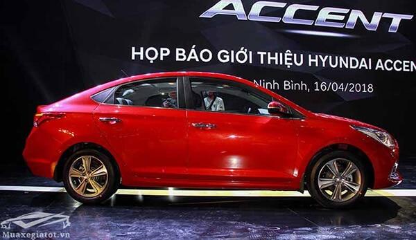hong xe hyundai accent 2019 muaxegiatot vn 8 Đánh giá xe Hyundai Accent 2021 kèm giá bán #1