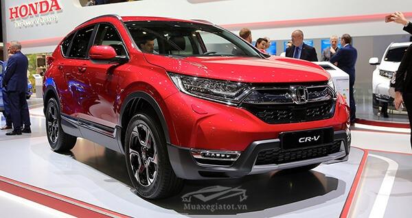 Honda CRV 2019 với hàng loạt nâng cấp ra mắt tại triển lãm Paris Motor Show 2018