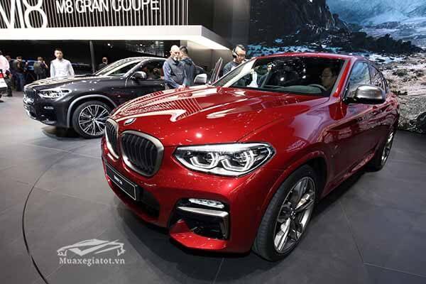 Đánh giá xe BMW X4 2019