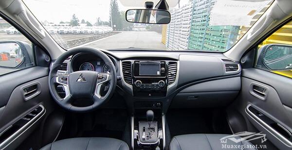 Nội thất và tiện nghi Mitsubishi Triton 2020