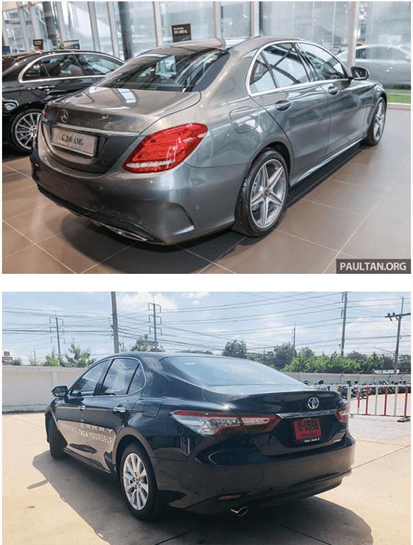 c200 2019 va toyota camry 2019 25q muaxenhanh vn 3 1 So sánh Mercedes C200 và Toyota Camry 2.5Q 2021