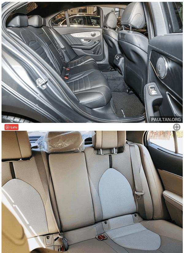 c200 2019 va toyota camry 2019 25q muaxenhanh vn 5 So sánh Mercedes C200 và Toyota Camry 2.5Q 2021