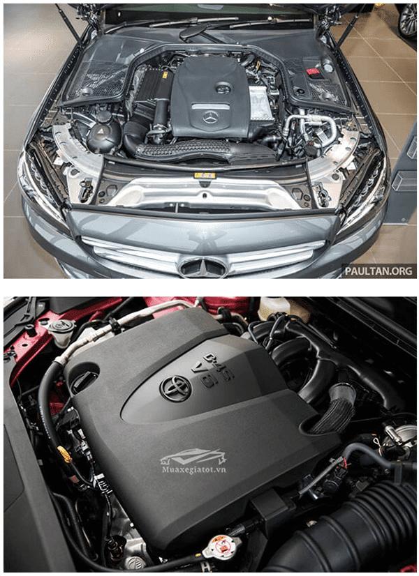 c200 2019 va toyota camry 2019 25q muaxenhanh vn 7 So sánh Mercedes C200 và Toyota Camry 2.5Q 2021